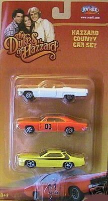 Dukes of Hazzard Cars: Roscoe P. Coltrane& Sheriff& cruiser, Daisy Duke White Jeep Wrangler, and the 1969 General Lee Charger with Confederate Flag Retro Toys, Vintage Toys, White Jeep Wrangler, Dukes Of Hazard, Stocking Stuffers For Men, Play Vehicles, Old School Toys, Vintage Stockings, Matchbox Cars