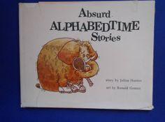 Absurd Alphabedtime Stories a Vintage by lizandjaybooksnmore