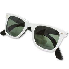 Ray-Ban Tortoise Original Wayfarer Sunglasses - White #raybans #rayban #sunglasses