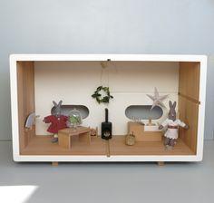 Cuisine… maison de poupée écologique en bois de hêtre made in Europe.