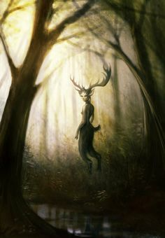 Faun In The Woods By Dao The Jing