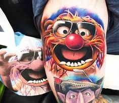 Muppet tattoo by Khail Tattooer