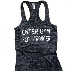 Instant workout inspiration. Tank, $32. #fitspiration