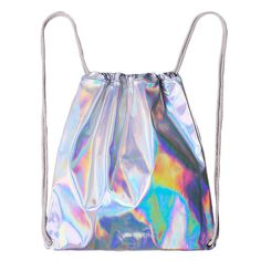 Колледж мода градиент ветра веревка рюкзак сумка светоотражающие лазерная купить на AliExpress