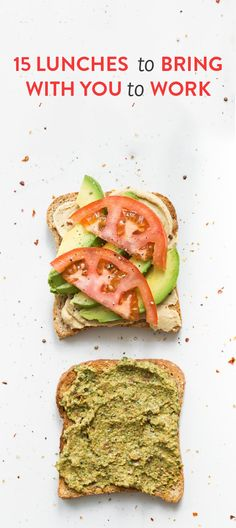 15 lunches to bring with you to work