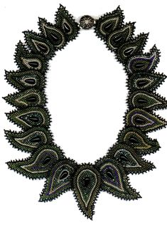 Diane Fitzgerald, Paisley Necklace