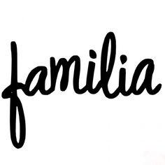 Familia Sr Piruleta Die for Sizzix Logo Familia, Love In Spanish, Ideas Aniversario, Tumblr Stickers, Instagram Highlight Icons, More Than Words, Book Of Life, Scrapbooking, Word Art