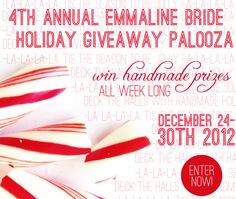 4th Annual Holiday Giveaway Palooza! – Day 1