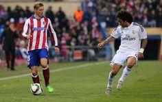 primer derbi de Torres con dos goles que hicieron pasar al atletico a octavos de final de la copa del rey