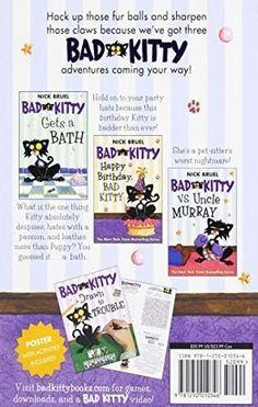 Bad Kitty's Very Bad Boxed Set Number 1: Bad Kitty Gets a Bath, Happy Birthday Bad Kitty, Bad Kitty vs. Uncle Murray