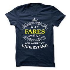 [Cool tshirt names] FARES Shirts 2016 Hoodies, Funny Tee Shirts