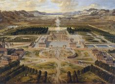 Chateau de Versailles 1668 Pierre Patel - Château de Versailles — Wikipédia