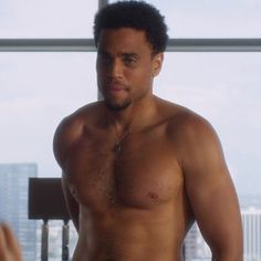 Michael Ealy | The 23 Most Important Hairy Celebrity Chests Of All Time