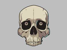 Skull illustration by Michael B. on Dribbble Skull Icon, Skull Art, Japanese Tattoo Symbols, Japanese Tattoos, Dream Catcher Patterns, Skull Illustration, Skeleton Art, Macabre Art, Airbrush Art