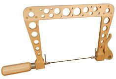A new, fresh design for a shop built quick release coping saw.