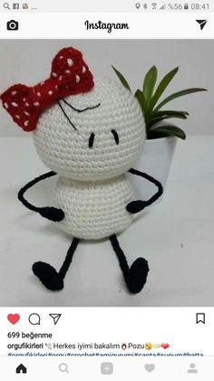 Form Crochet, Crochet Cross, Knit Or Crochet, Crochet Motif, Crochet For Kids, Crochet Stitches, Crochet Patterns Amigurumi, Amigurumi Doll, Crochet Dolls