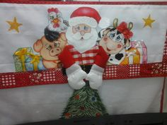kit para fogão Natal turminha | Nuza Artes | Elo7