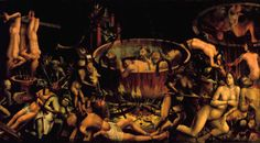 Hell Author unidentified Portugal, 1st third of the sixteenth century (1505-1530) Oil on oak wood A 119 x 217.5 cm L Convents extinct in 1834 NMAA inv. 432. Museu Nacional de Arte Antiga