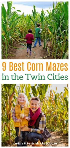 Twin Cities Kids Club Blogs: 9 Best Corn Mazes in the Twin Cities - Corn mazes are great activities for kids: it lets them explore and get out on their own a bit, all within the safety of a maze. Additionally, most orchards and special event venues have other family-friendly activities going on for the fall season. | Kids Game | Kids Fun | Corn Maze | Family Fun | Kids Activities For 2 Year Olds, Indoor Activities, Infant Activities, Kids Fun, Games For Kids, Cool Kids, 3 Year Olds, Corn Maze, Orchards
