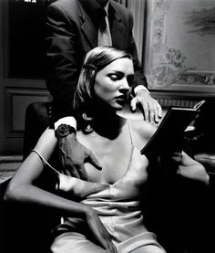 Helmut Newton pour les montres Paul Picot. ['keep reading.. don't mind me.. keep reading.. just try..]