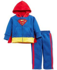 Nanette Baby Boys' Superman 2-Piece Set