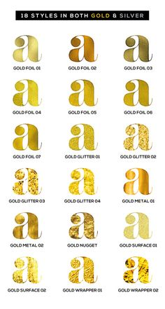 Get 100% Vector Gold Effects directly in Illustrator.