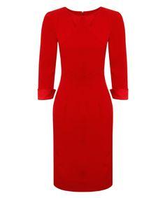 Allegra+red+long-sleeved+dress+by+Hybrid+Fashion+on+secretsales.com