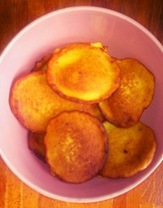 Capeverdean banana pancakes photo and dish made by Ida M Neves