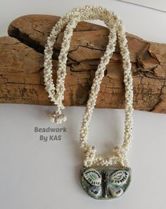 Twin bead rope #Seed #Bead #Tutorials