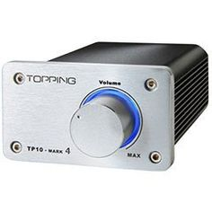 Topping TP10-MK4 TA2024 Class T Digital Mini Amplifier 15WPC by Topping. $89.00. The Topping TP10-Mark 4 mini amplifier employs the renowned Tripath TA2024 chip to deliver amazing performance while residing in a stylish machined aluminum housing.. Save 26%!