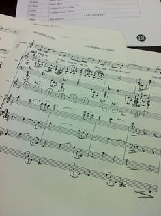 """Jason Robert Brown's original orchestra scores for THE LAST FIVE YEARS - """"Still Hurting"""""""