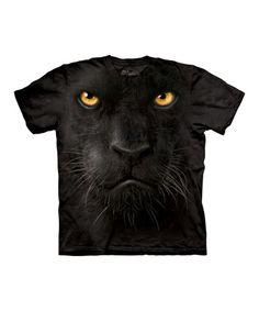 Take a look at this Black Panther Face Tee - Toddler & Kids by The Mountain on #zulily today!