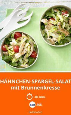 Hähnchen-Spargel-Salat - mit Brunnenkresse - smarter - Kalorien: 368 Kcal - Zeit: 40 Min. | eatsmarter.de