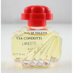 Via Condotti Perfume with the red cap - if I could only find this again!
