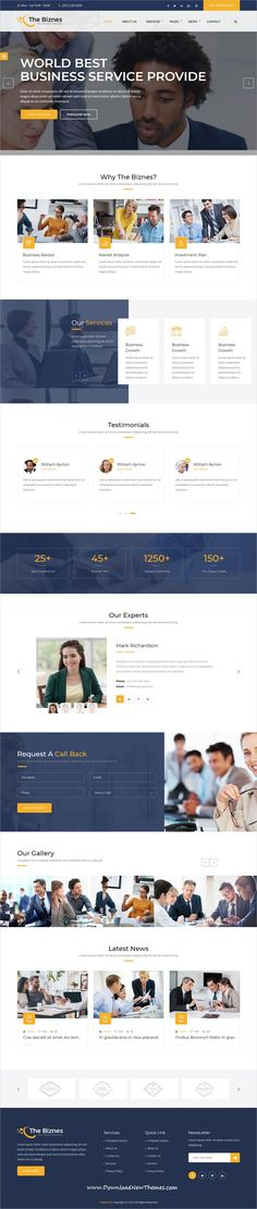 The Business is clean and modern design responsive #HTML bootstrap #template for business #consulting and professional services #website to download & live preview click on image or Visit #webdesign