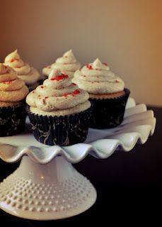 Vanilla Latte Cupcakes - Wuthering Iris