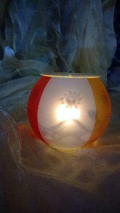Partylite, Beach Fun, Lava Lamp, Candle Holders, Table Lamp, Candles, Home Decor, Summer Accessories, Hang In There