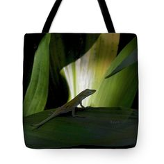 Baby Lizard A Moment of Time Tote Bag - original by Felipe Adan Lerma http://fineartamerica.com/products/baby-lizard-a-moment-of-time-felipe-adan-lerma-tote-bag.html #gardengift