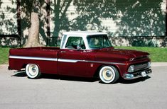 Joe Wood swapped a 1964 Bel Air wagon for this 1964 Chevy C10 and then personalized it to make it his.