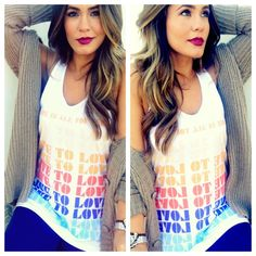 Enter to win this Live to Love tank on FromStarsToSpikes.com
