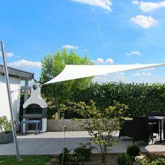 Sonnensegel Mast höhenverstellbar 3m, 3mm Wandung