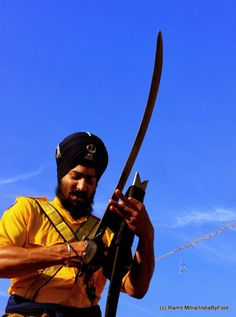 Are you ready for something exciting on Holi 2014? - Glipses of Hola Mohalla 2013 by Ramit Mitra