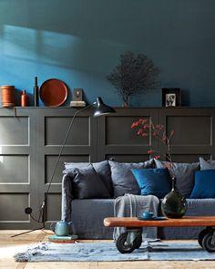Afbeelding lambrisering-paneeldeuren-diy Styling: Cleo Scheulderman @vtwonen photo: Jeroen van der Spek