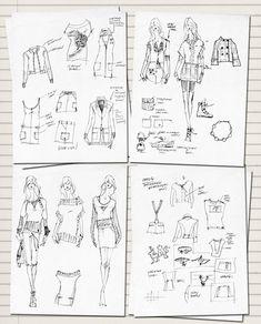 All sizes | fashion sketchbook women, via Flickr.