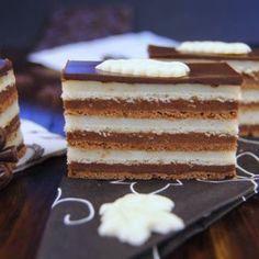 Hungarian Desserts, Hungarian Recipes, Sweet Cookies, Sweet Treats, Kolaci I Torte, Cake Bars, Small Cake, Chocolate Hazelnut, Sweet Recipes
