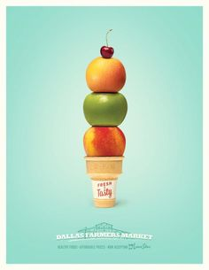 Dallas Farmers Market: Ice-cream cone