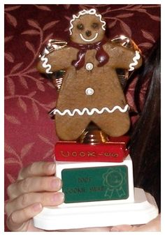 Gingerbread Prize Trophy - Sue's 1st Cookie Exchange Party 2008