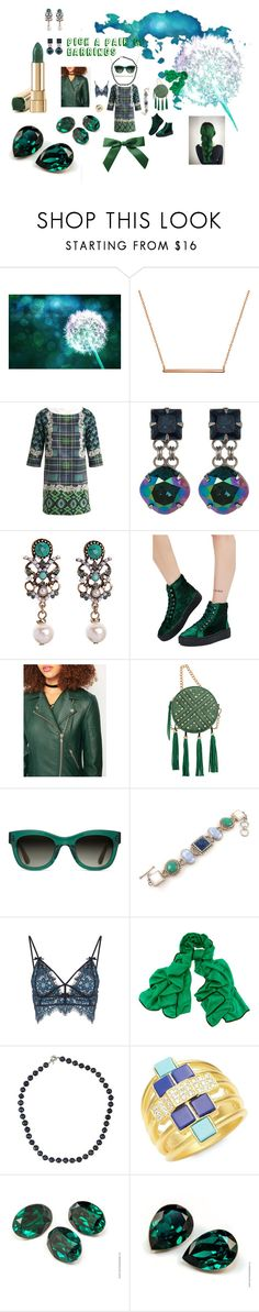 """""""Pick a Pair of Earrings"""" by illuminatab on Polyvore featuring Bling Jewelry, Emma Cook, Sorrelli, Qupid, Miss Selfridge, Mellow World, TOMS, For Love & Lemons, Black and NOVICA"""