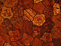 Fabric patterns of art, culture, mystics, and philosophy : Batik, from Solo /Surakarta, Indonesia by ARIAMAN, via Flickr
