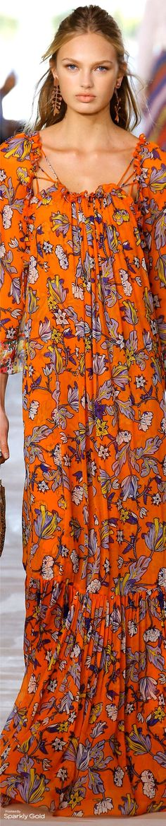 Tory Burch Spring 2017 RTW. | Admired by FalconFabrics.com.au